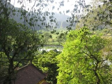 vue depuis Pagode Bich Dong niveau 2