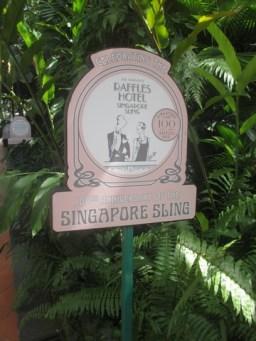 cokttail Singapore Sling