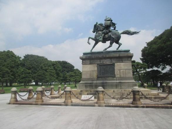 statue équestre kusunoki
