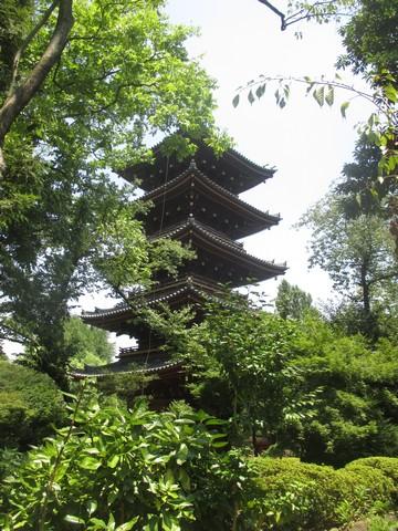 pagode parc Ueno