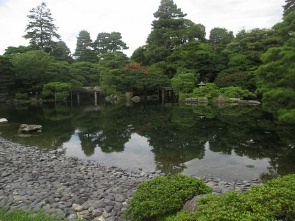 jardin palais impérial Kyoto