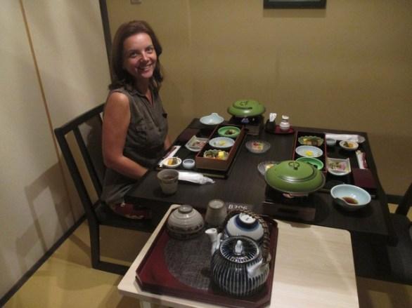 petit-déjeuner Ryokan Nara