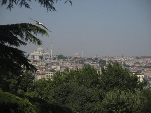 Vue Istanbul Palais Topkapi