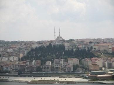 vue depuis le café Loti Istanbul