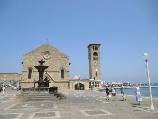 Port de Mandraki Rhodes