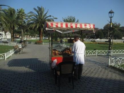 """vendeur de """"bagels turcs"""""""