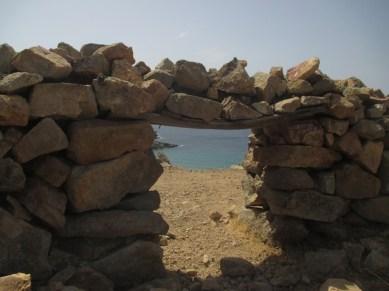 sentier vers plage Psili Ammos Patmos