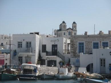 port de pêche Naoussa Paros
