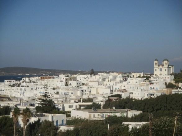 vue sur Naoussa Paros