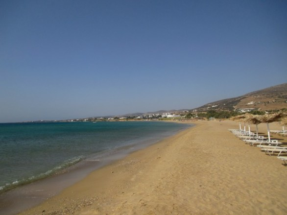 "plage ""golden beach"" Paros"
