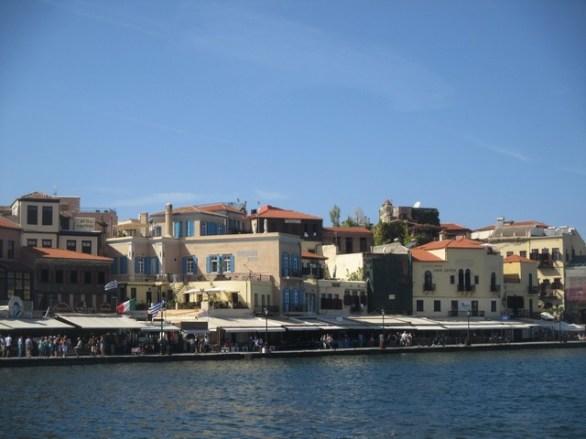 port vénitien de Chania Crète