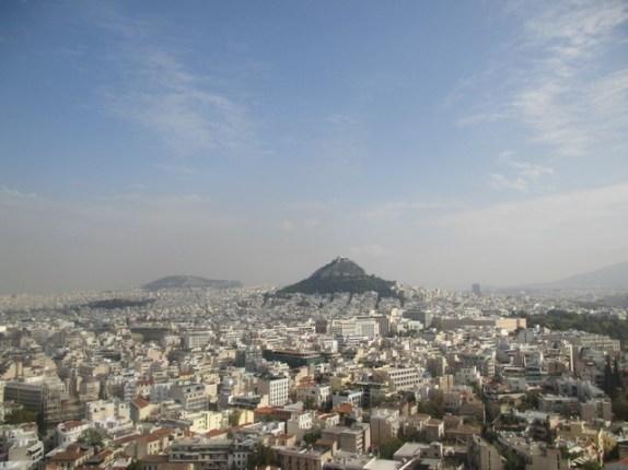vue depuis l'Acropole