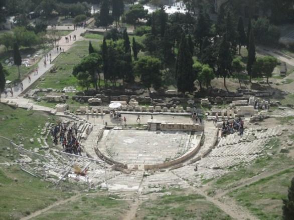 théâtre de Dyonisos Athènes