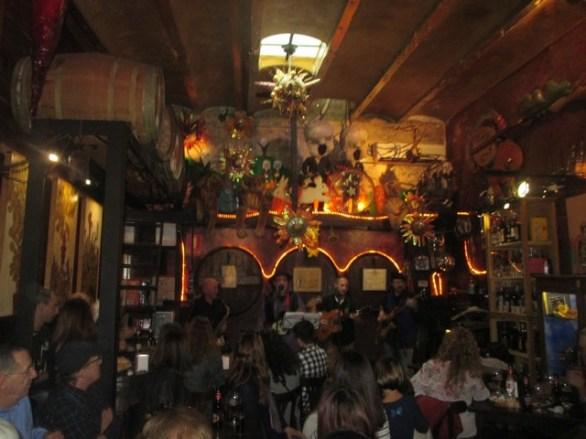 Bar musical quartier Poble Sec