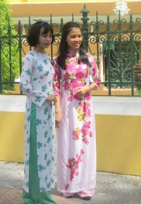 élégantes Vietnamiennes