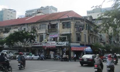 quartier du marché Ben Thanh Saigon