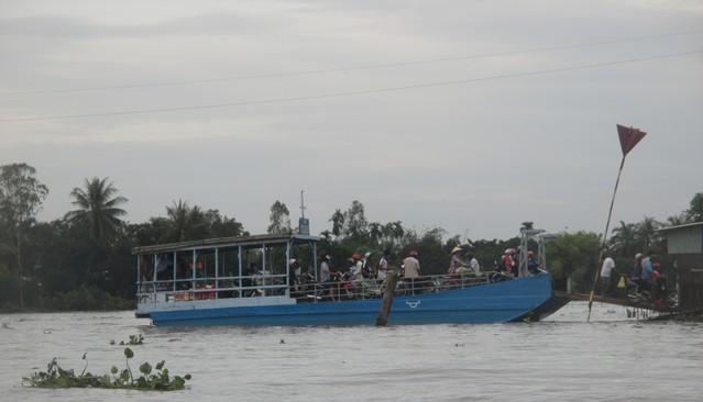 embarcations sur le Mékong Cân Tho
