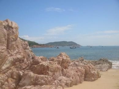 plage près de Khu Vuc Quy Nhon Vietnam