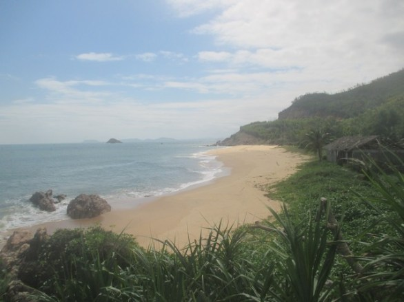 plage près de Khu Vuc, Quy Nhon