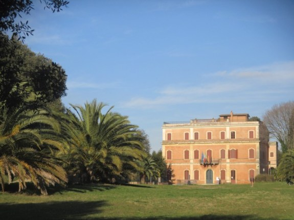 parc Pamphili Rome