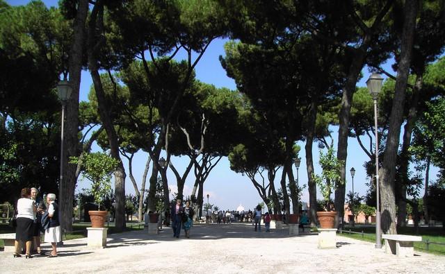 jardin des oranges Rome