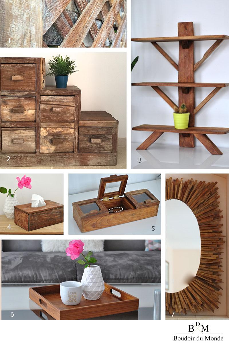 boudoir du monde propose une selection de mobiliers et d accessoires en teck