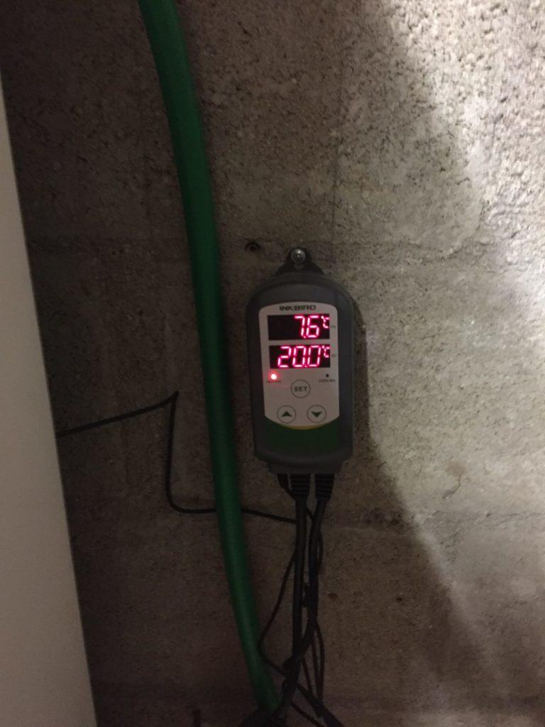 thermostat brasserie