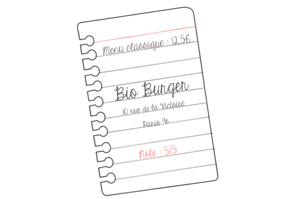 notebookbioburger