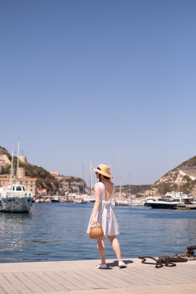 Le port de Bonifacio, Corse