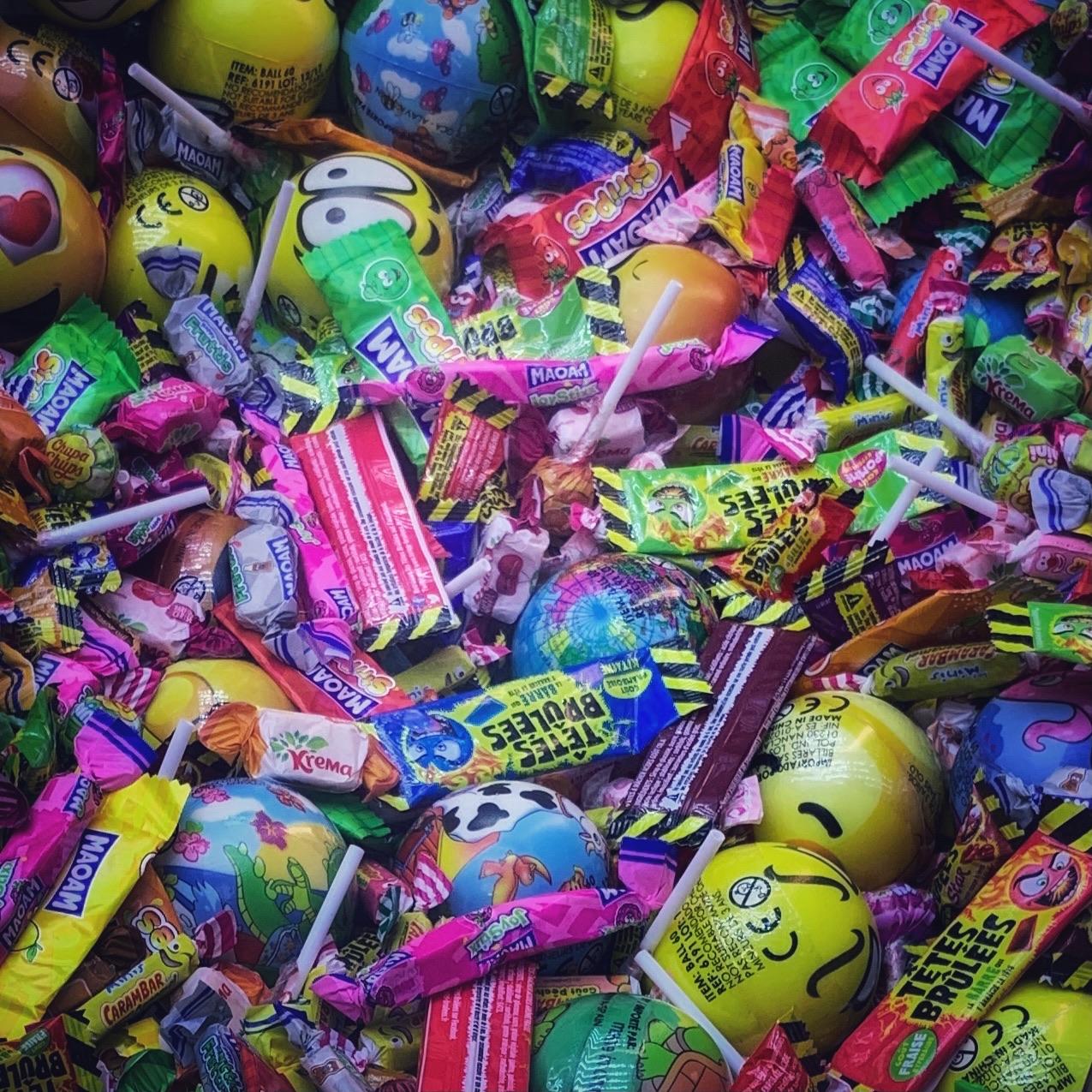 Les sucreries de la fête foraine