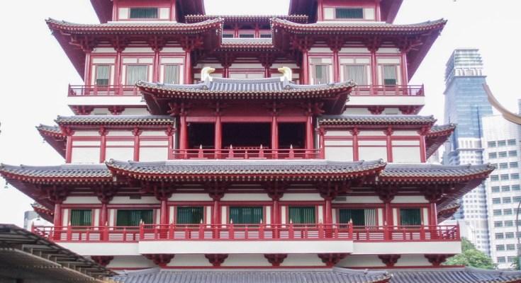 Photo architecture China Town Singapour