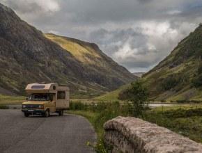 Camping-car à Glen Coe