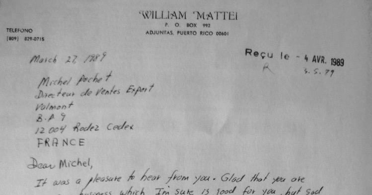 Lettre-William-Costa-Rica-1989