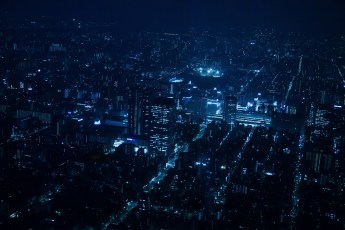 Tokyo, view from SkyTree Tower