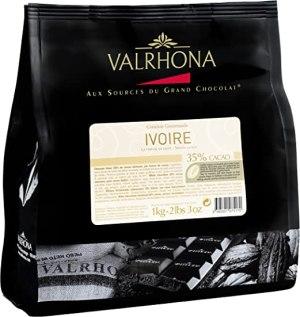 chocolat blanc ivoire valrhona