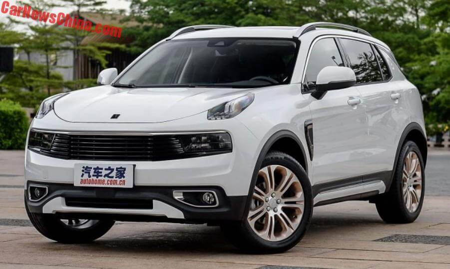 The Lynk Co Suv Is Ready For The Chinese Car Market