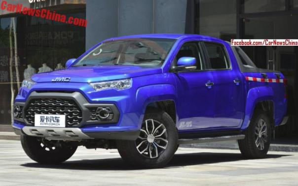 New JMC Tiger Pickup Truck Launched In China