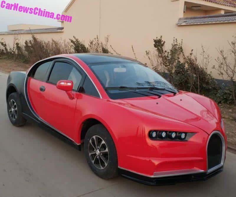 Bugatti Chiron Gets LSEVed In China  CarNewsChinacom