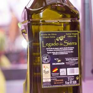 aceite de oliva legado de sierra de venta en carniceria de gijon