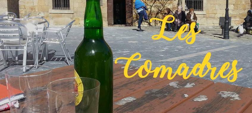 Sidrería Gijón en fiesta Les Comadres
