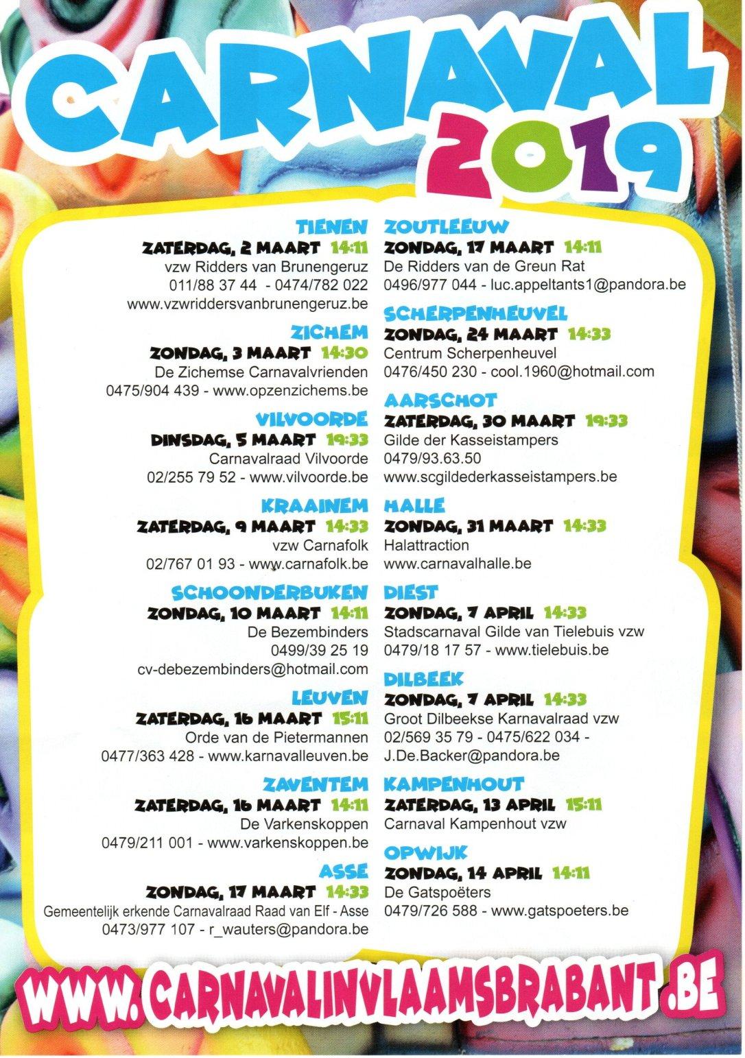 Carnival Vlaams Brabant 02