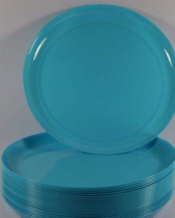 "9"" Blue Break a Plate"