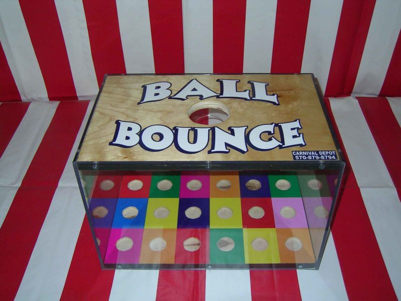 ball bounce carnival game