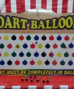 Large Balloon Suction Dart Carnival Game