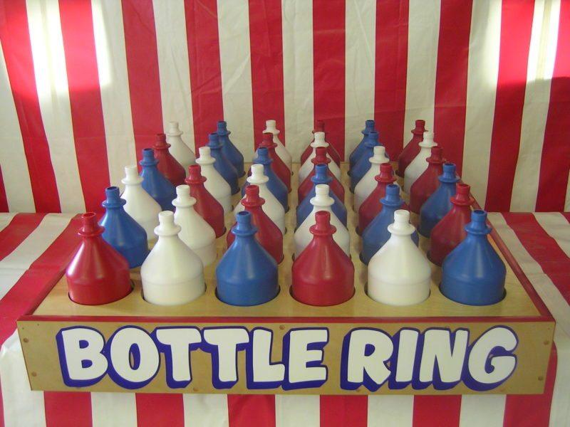 36 bottle ring toss carnival game