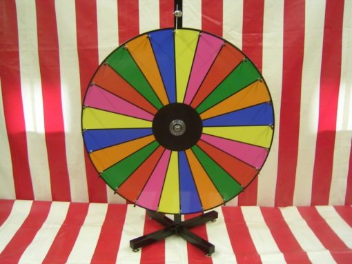 Dry Erase Carnival Game Wheel