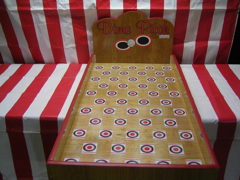 Luck Strike Dime Pitch Carnival Game