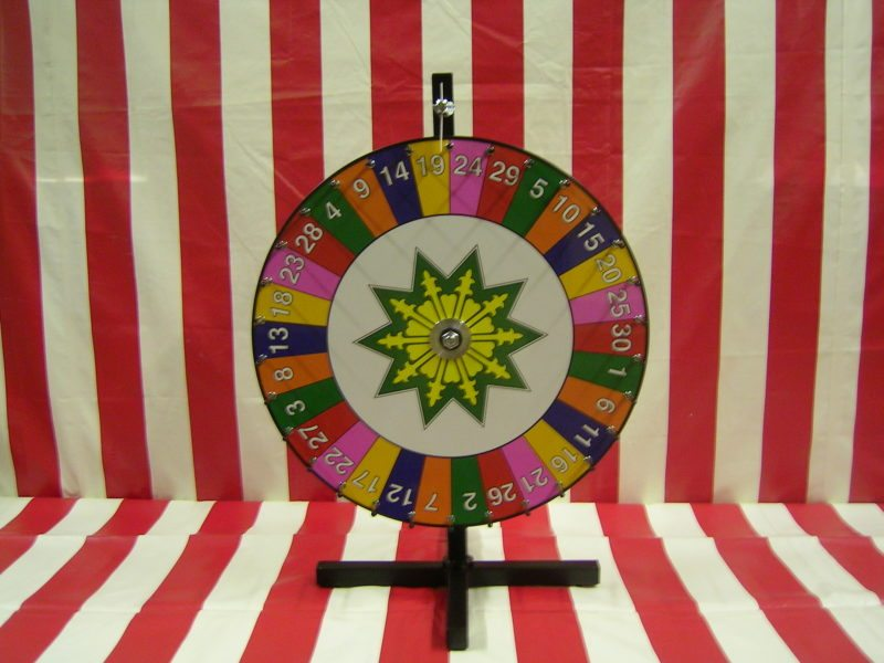 Number Carnival Game Wheel