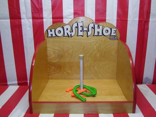 Horseshoe Carnival Game