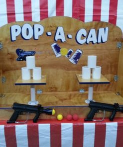 Pop a Can Carnival Game Large